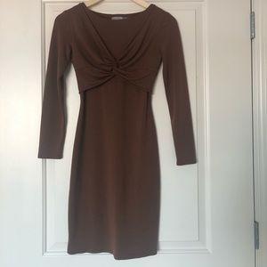 Beautiful  stretch  brown dress.